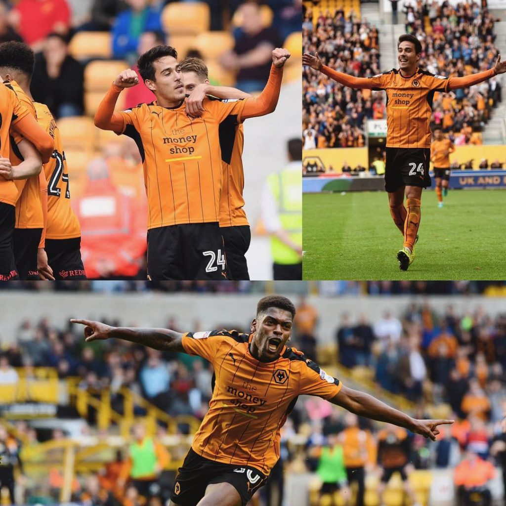 joaoteixeira94 at the double and ivancavaleiro with Wolves goals thishellip