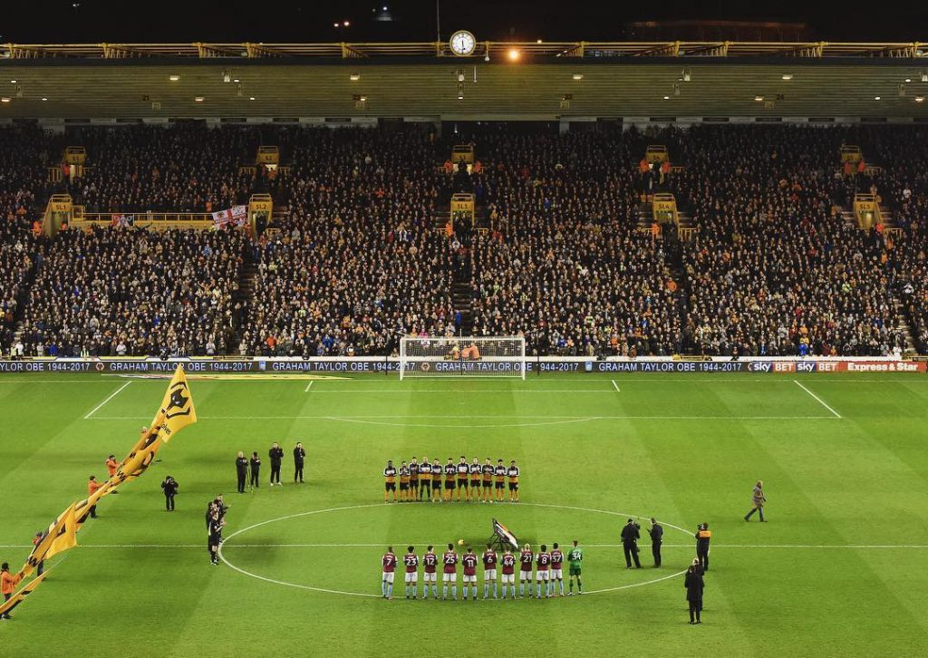 A minutes applause for Graham Taylor as seen from thehellip